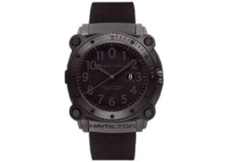 Hamilton Khaki Navy BeLOWZERO 1000M Mens Watch - H78585333