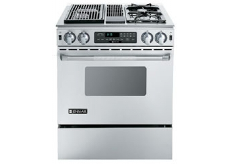 Jenn Air Pro Style Dual Fuel Slide In Range In Stainless