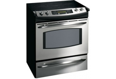 GE - JS905SKSS - Slide-In Electric Ranges