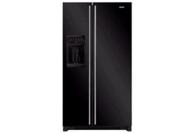 Jenn air black side by side refrigerator jsd2697key abt for Jenn air floating glass refrigerator