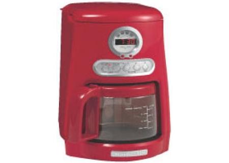 Java Studio Coffee Maker : Kitchenaid Programmable JavaStudio Collection Coffee Maker - Empire Red Finish - KCM511ER - Abt