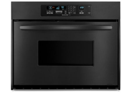 KitchenAid - KEBC147VBL - Single Wall Ovens