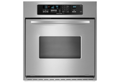 KitchenAid - KEBC147VSS - Single Wall Ovens