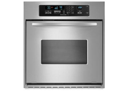 KitchenAid - KEBC147VSS - Single Wall Ovens