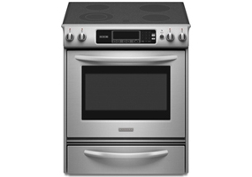 KitchenAid - KESK901SSS - Slide-In Electric Ranges