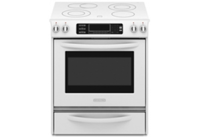 KitchenAid - KESS907SWW - Slide-In Electric Ranges