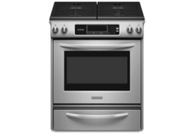 KitchenAid - KGSK901SSS - Slide-In Gas Ranges
