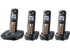 Panasonic - KX-TG6434T - Cordless Phones