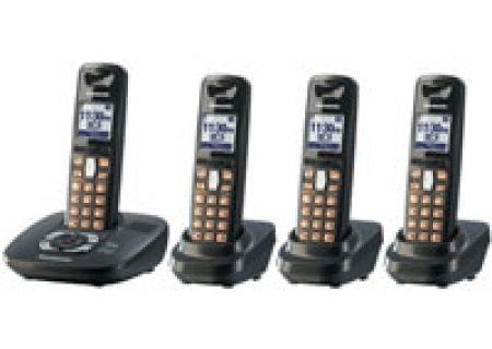 Panasonic - KX-TG6434T - Cordless Phones