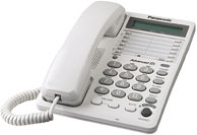Panasonic - KXTS108W - Corded Phones