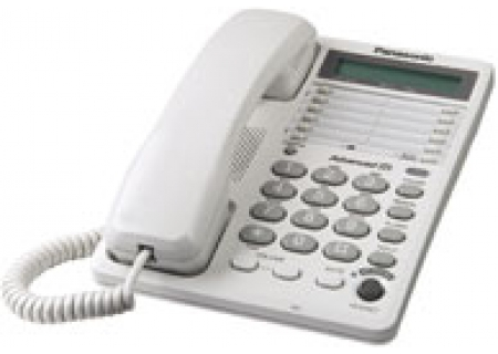 Panasonic - KXTS108W - Corded Phones