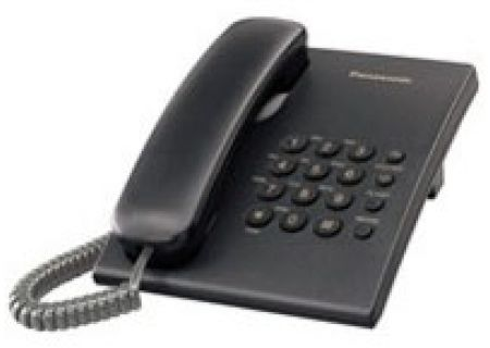 Panasonic - KX-TS500B - Corded Phones