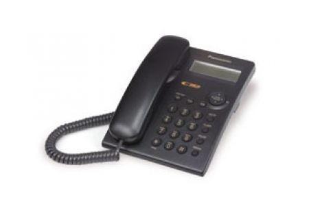 Panasonic Integrated Corded Black Telephone - KXTSC11B