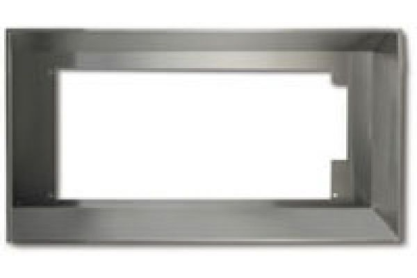"Large image of Best 36"" Liner - Brushed Stainless Steel Finish - L7036"
