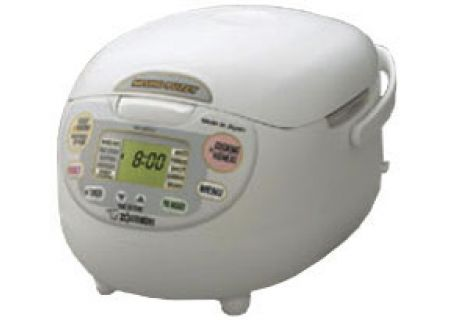 Zojirushi Neuro Fuzzy Rice Cooker And Warmer - Premium White Finish - NS-ZCC10
