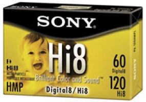 Sony - P6120HMPL - 8MM - Hi8MM Tapes