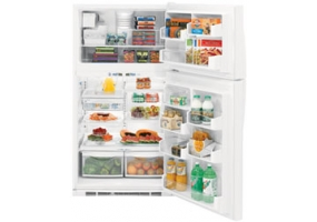 GE - PTS25LHSWW - Top Freezer Refrigerators