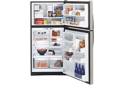 GE - PTS25SHSSS - Top Freezer Refrigerators