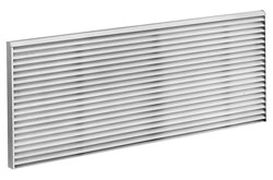 ge zoneline aluminum architectural outdoor grille - rag67