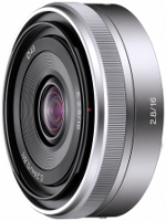Sony Interchangeable Alpha E-Mount 16MM F2.8 Lens - SEL16F28
