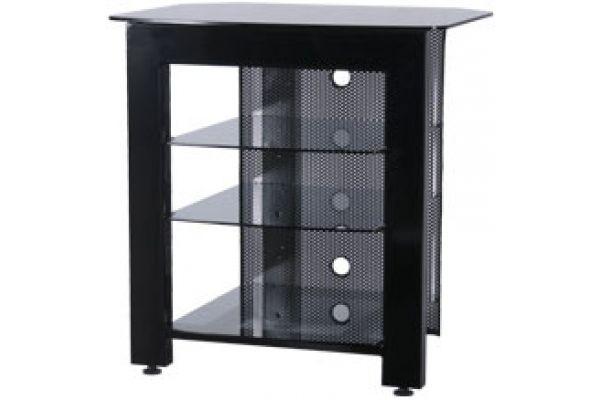 Large image of Sanus Black Home Theater TV Stand Black - SFA29B
