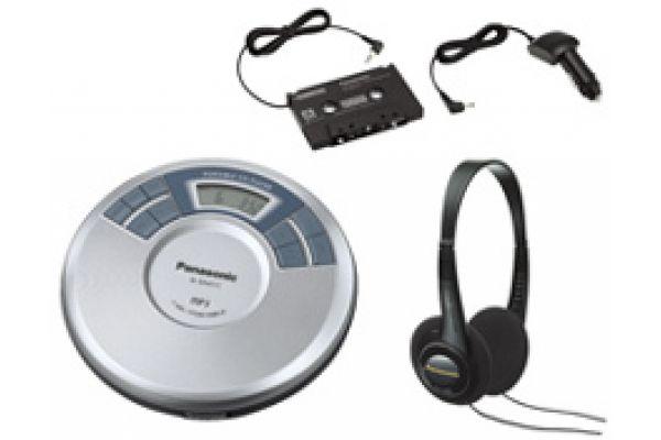 Large image of Panasonic Portable CD Player - SLSX451C - SLSX451C