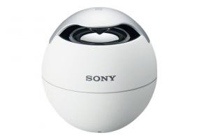 Sony - SRS-BTV5/WHT - Portable & Bluetooth Speakers