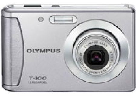 Olympus - T-100 SILVER - Digital Cameras