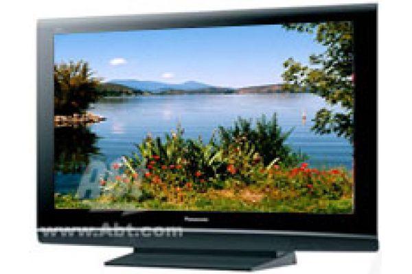 "Large image of Panasonic VIERA 42"" Plasma Black Flat Panel HDTV - TH42PZ80Q"