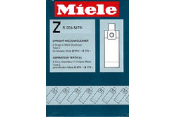 Large image of Miele Fullsize 5 Pack Upright Dust Bags - 5294741
