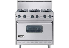 Viking - VGIC3666BSS - Free Standing Gas Ranges & Stoves