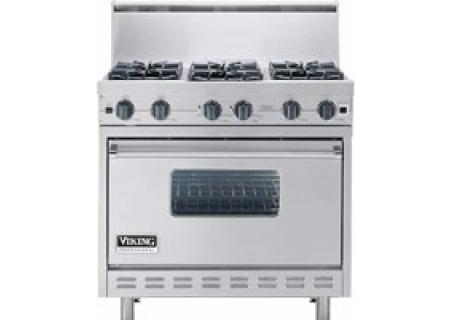 Viking - VGIC3666BSS - Gas Ranges