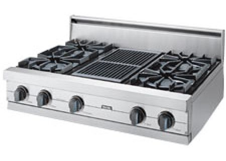 Viking Professional Series 42 Gas Rangetop Vgrt421 4q