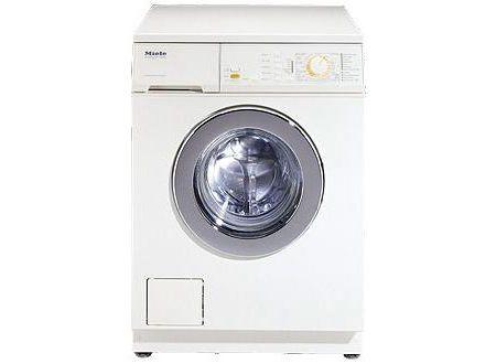 Miele White Novotronic Washing Machine - W1966 - Abt