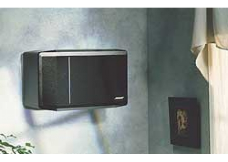 Bose WB 3 Bookshelf Speaker Wall Brackets Black 18423