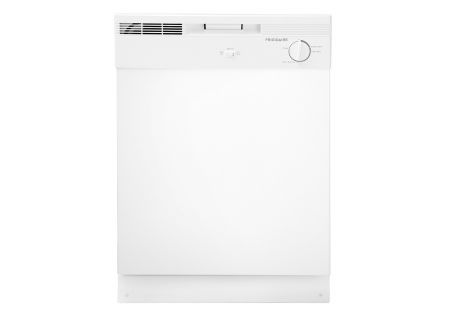 "Frigidaire 24"" White Built-In Dishwasher - FBD2400KW"