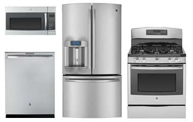 GE Profile Kitchen Appliance Package Stainless - Abt.com