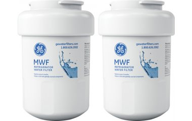 GE Replacement Refrigerator Water And Ice Filter - 2 Pack