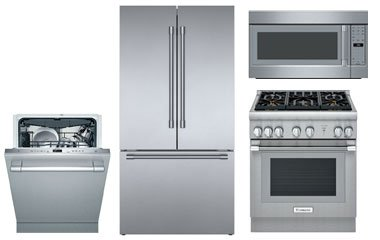 Thermador Stainless Steel Kitchen Appliance Package