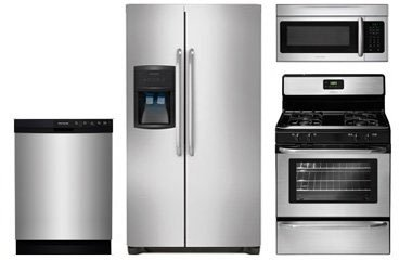 Frigidaire Stainless Steel Kitchen Appliance Package Abt Com