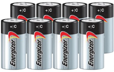 Energizer MAX C Alkaline Batteries - 8 Pack