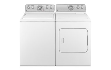Maytag Centennial White Top Load Washer Laundry Package
