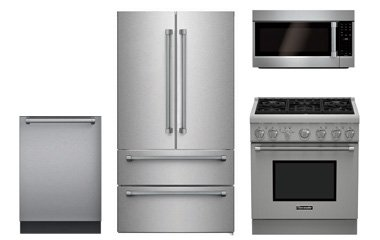 thermador stainless steel kitchen appliance package. Black Bedroom Furniture Sets. Home Design Ideas
