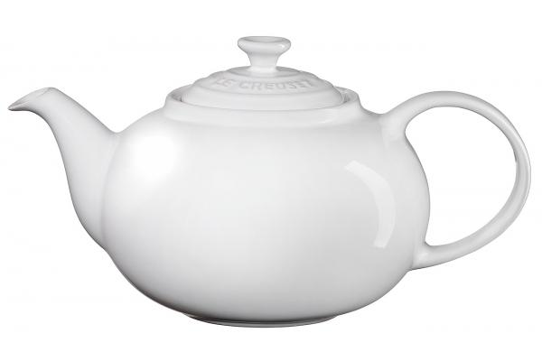 Large image of Le Creuset 1.4 Qt. White Traditional Teapot - PG0328T-0016