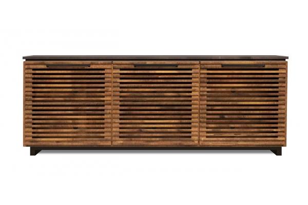 "Large image of Legends Furniture Graceland 74"" Bourbon TV Console - GC1211-BNB"