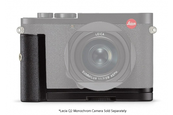 Large image of Leica Q2 Monochrom Black Handgrip - 19629