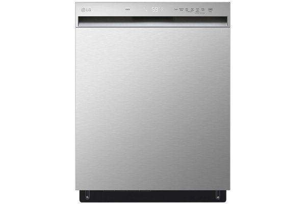 """Large image of LG 24"""" Stainless Steel Front Control Dishwasher With QuadWash - LDFN3432T"""