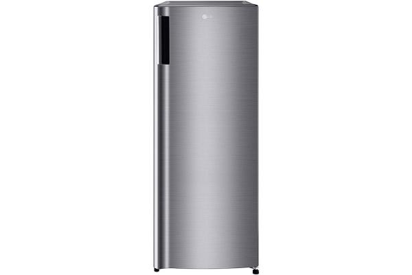Large image of LG 5.8 Cu. Ft. Platinum Silver Single Door Freezer - LROFC0605V