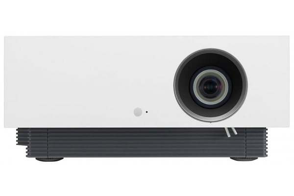 Large image of LG 4K UHD Laser Smart Home Theater CineBeam White Projector - HU810PW