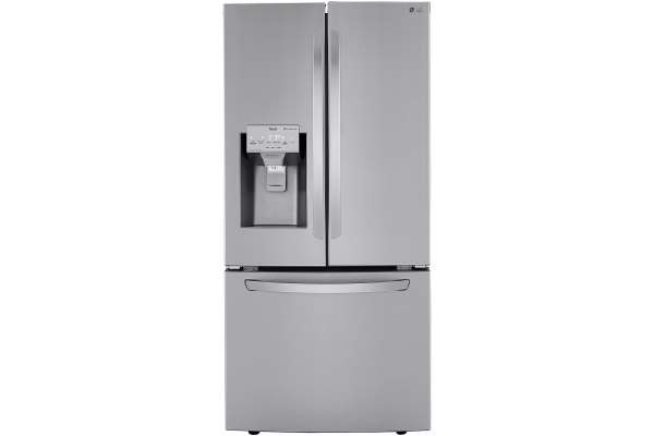 Large image of LG 25 Cu. Ft. PrintProof Stainless Steel Smart Wi-Fi Enabled French Door Refrigerator - LRFXS2503S